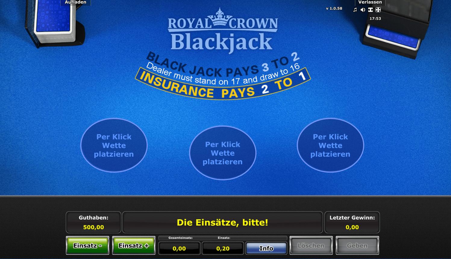 Blackjack schweiz