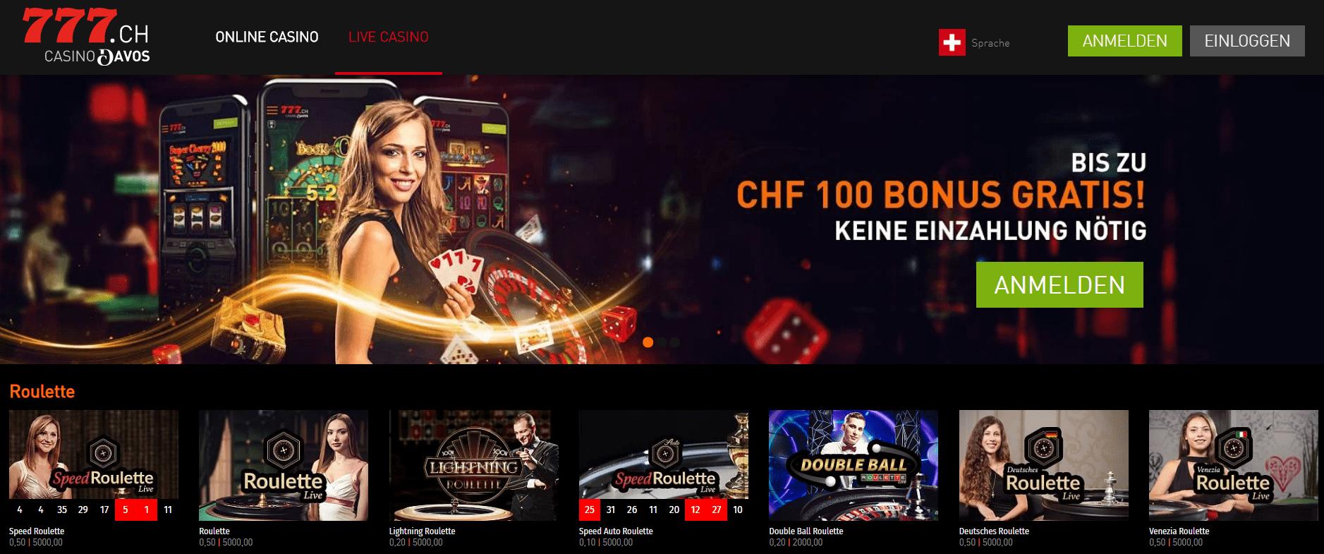 Schweizer Online Casino