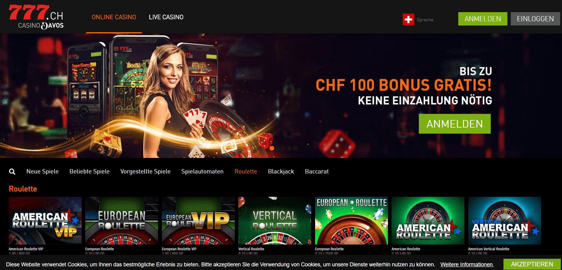 Roueltte casino777