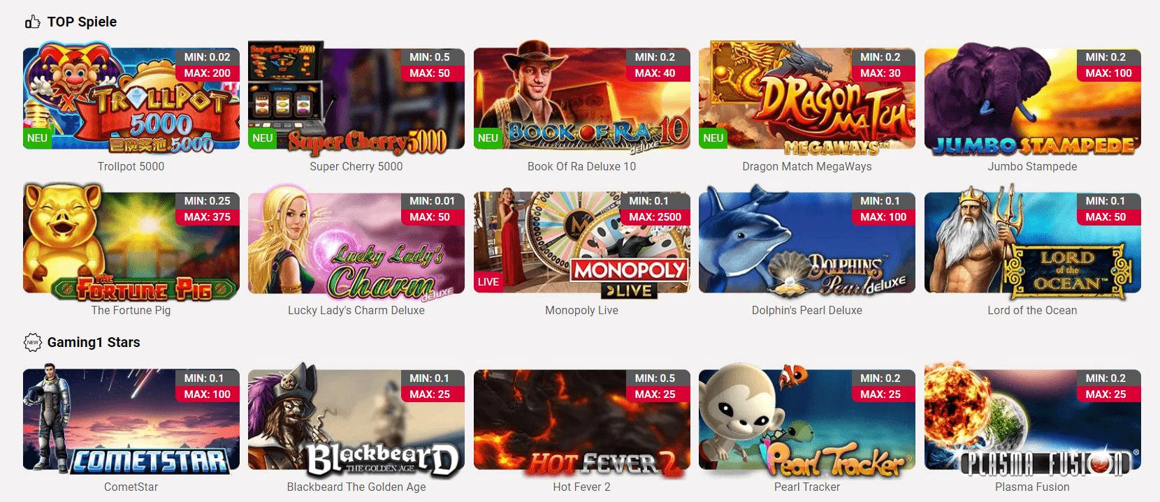 Beste Online Casinos Mit Schweizer Franken 2021