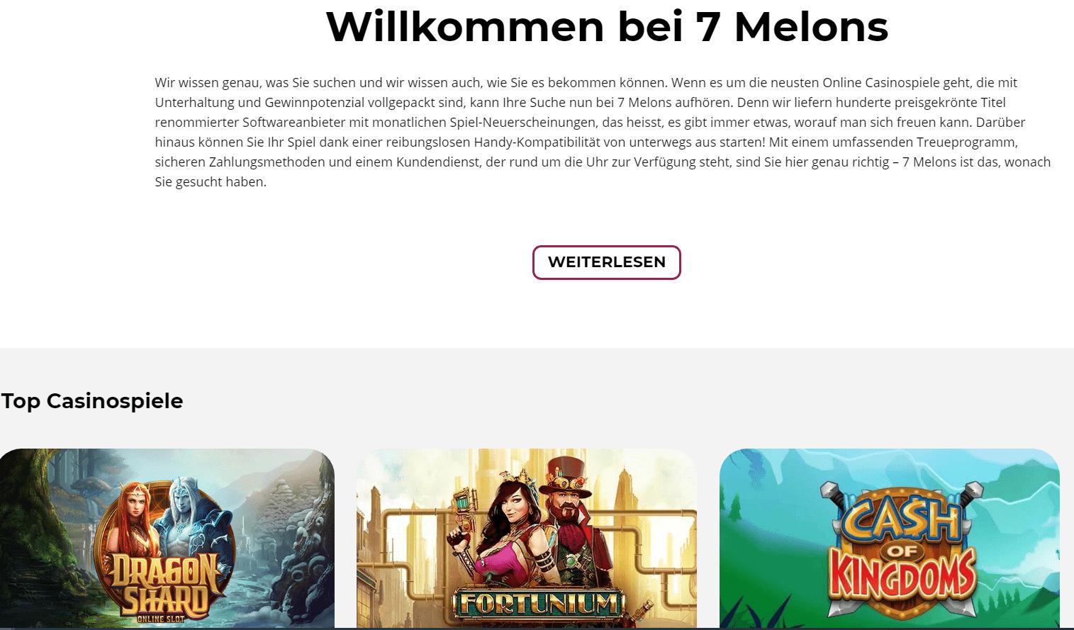 7 melons casinospiele