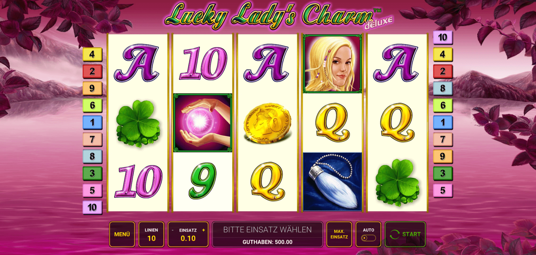 Lucky Ladys Charm Deluxe spiel