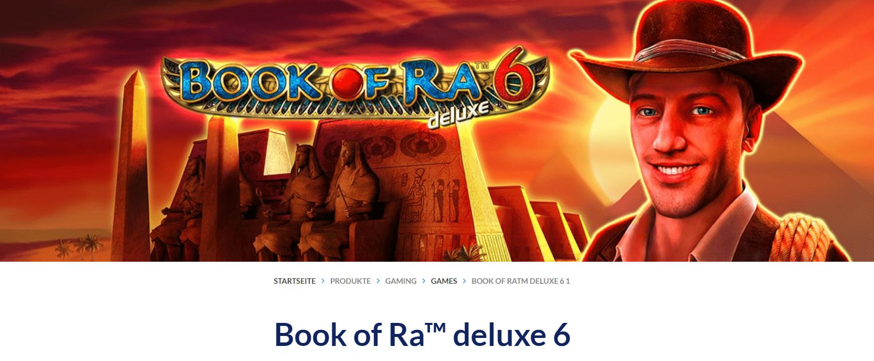 Book of Ra Deluxe Novomatic