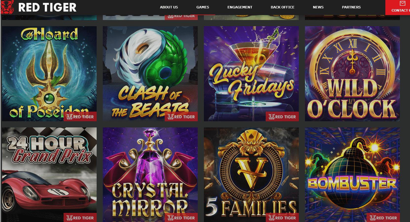 Red Tiger Gaming Slots