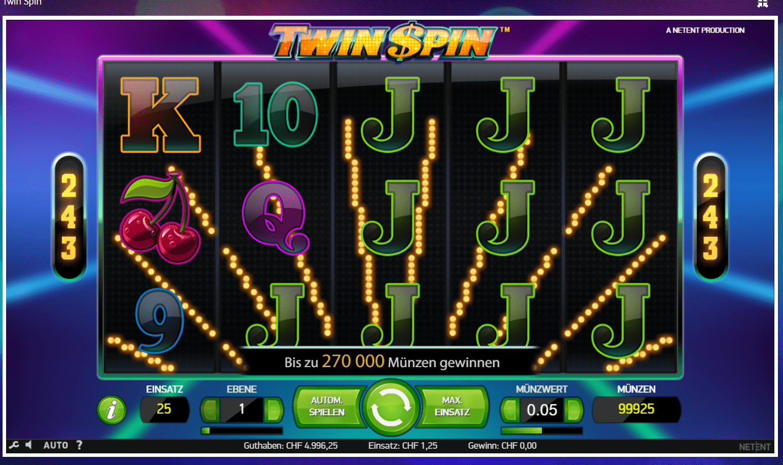 twin spin ch