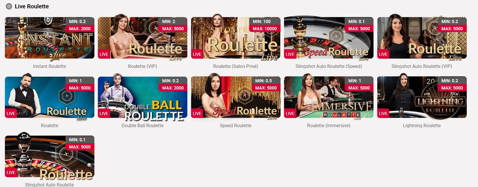 live roulette ch