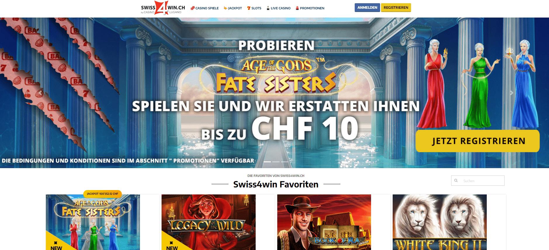 swiss4win casino