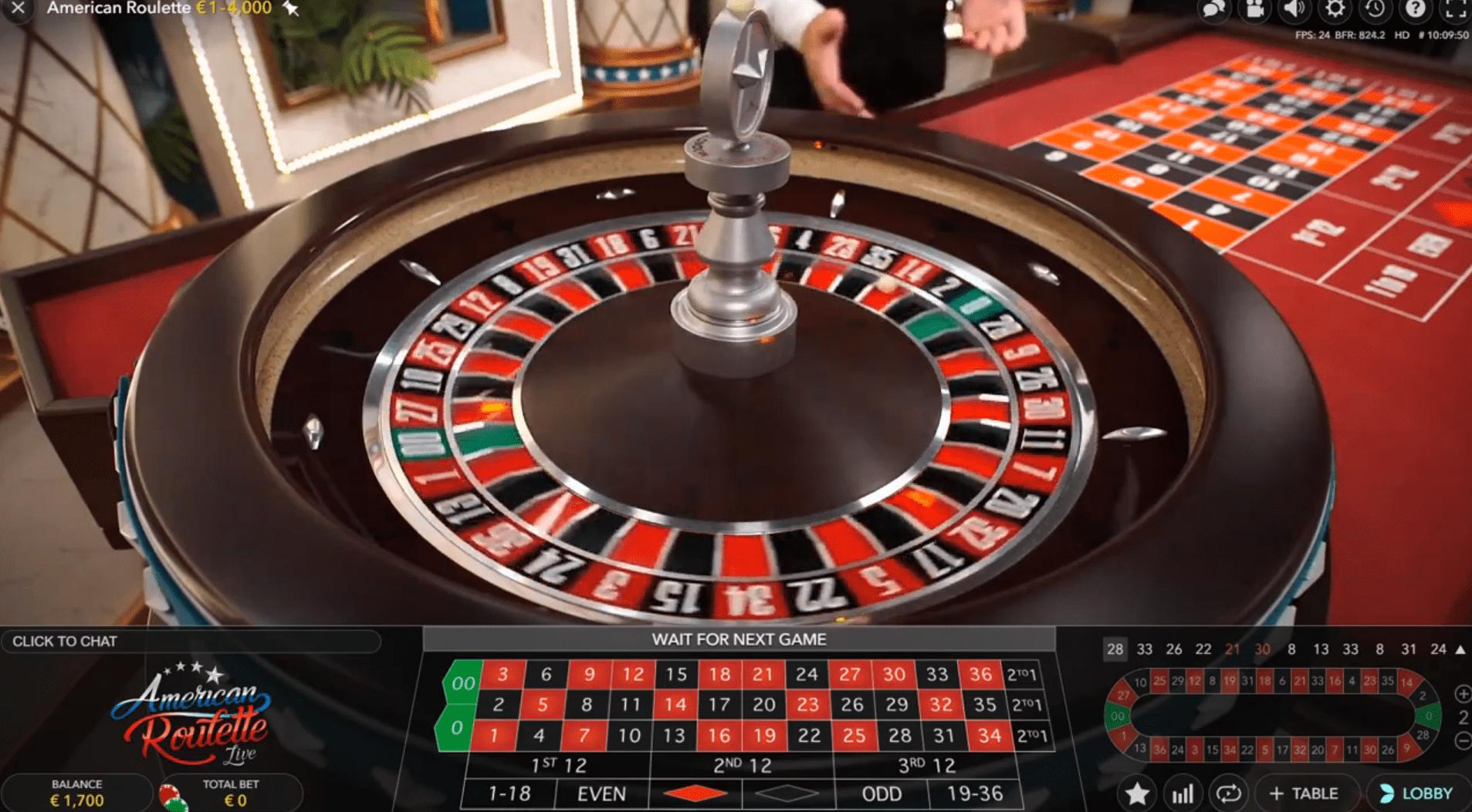 amerikanisches roulette spielen
