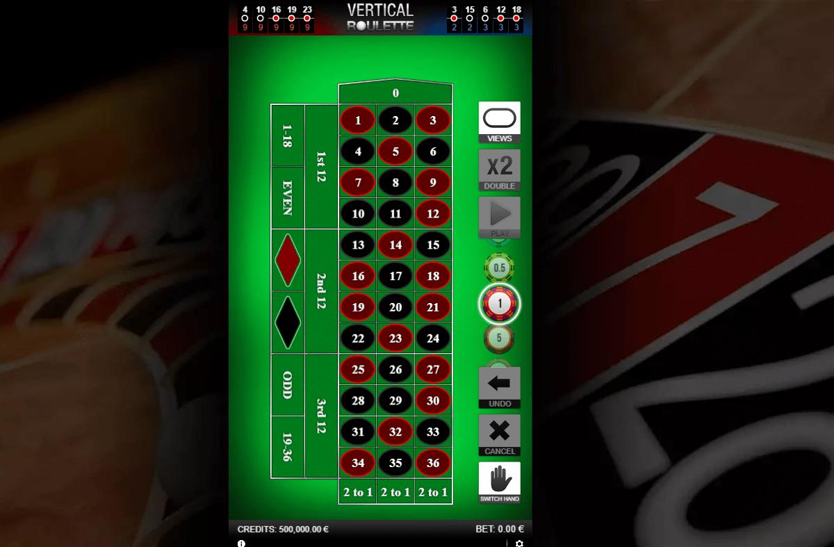 vertical roulette online