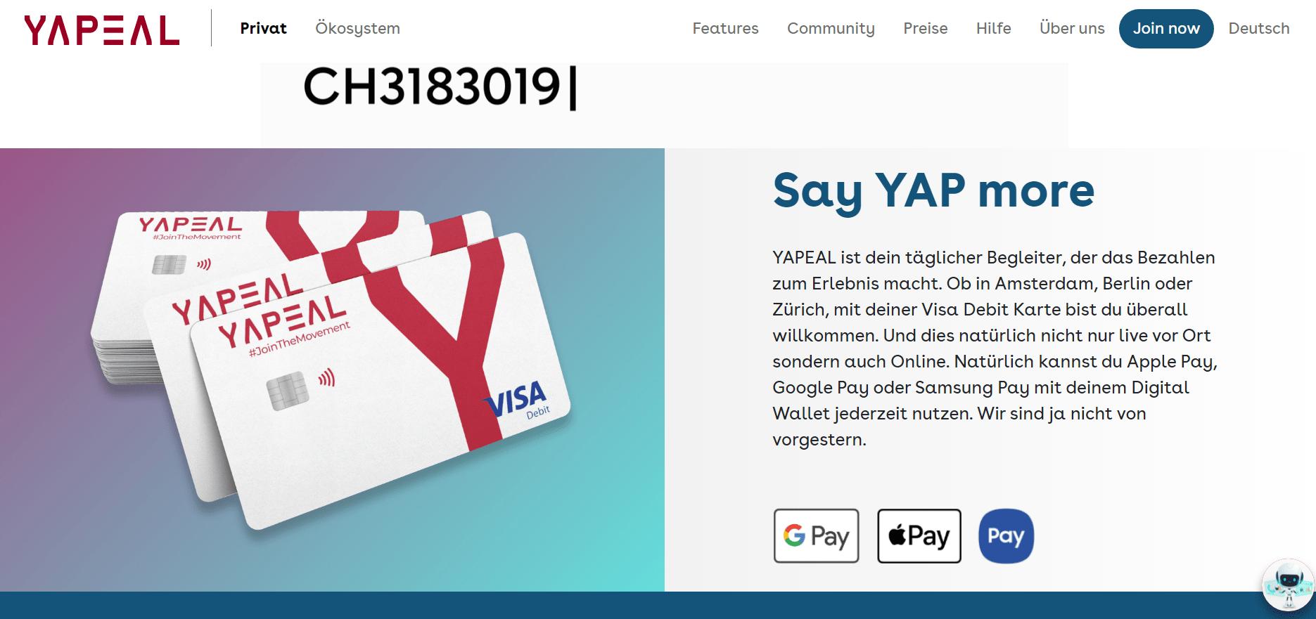 yapeal auszahlung casino